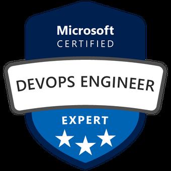 Certification Badge for Microsoft Certified DevOps Engineer Expert